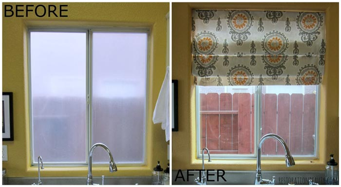 Before-and-After-No-Sew-Roman-Shades