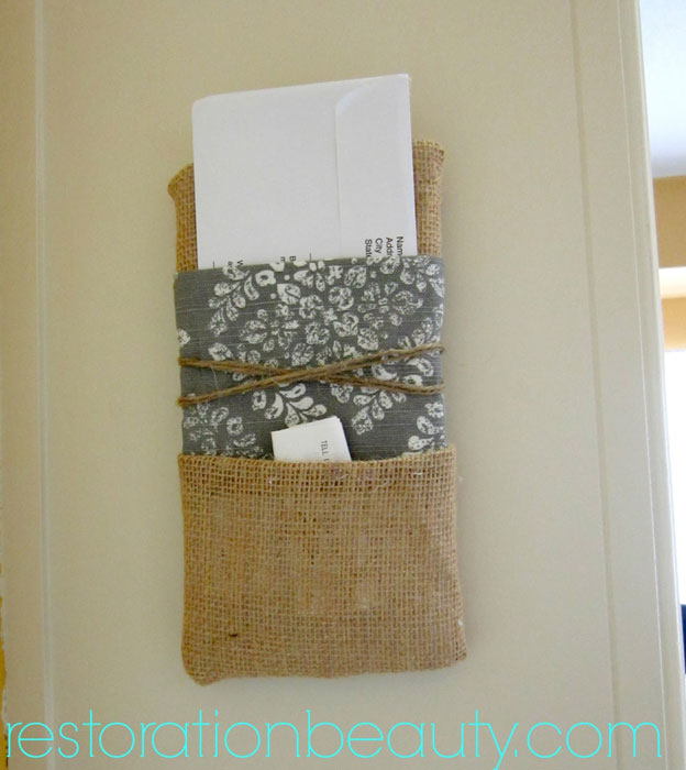 Diy-mail-holder