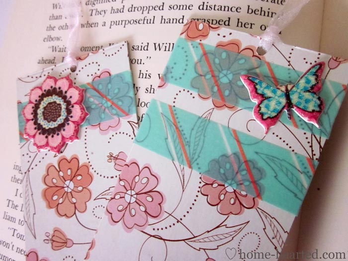 Washi-Tape-Bookmarks
