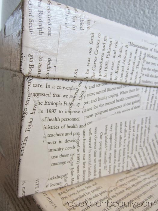 decoupage-box-with-book-pages-1