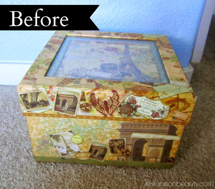 decoupaged-box-with-book-pages