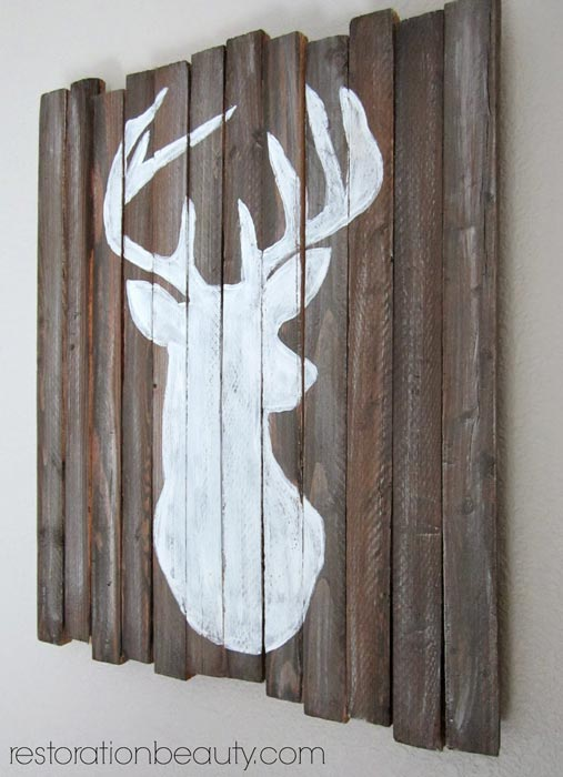 diy-deer-head-silhouette-wooden-art