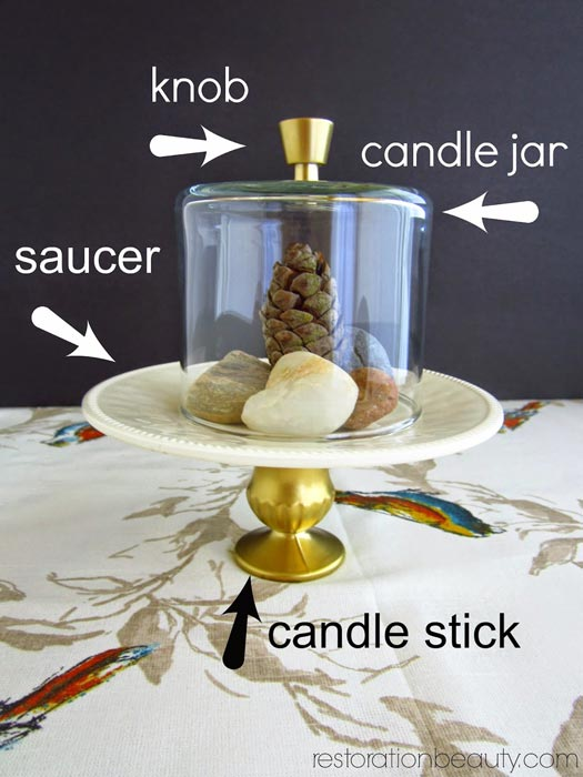 diy-mini-cloche-with-pedestal-base
