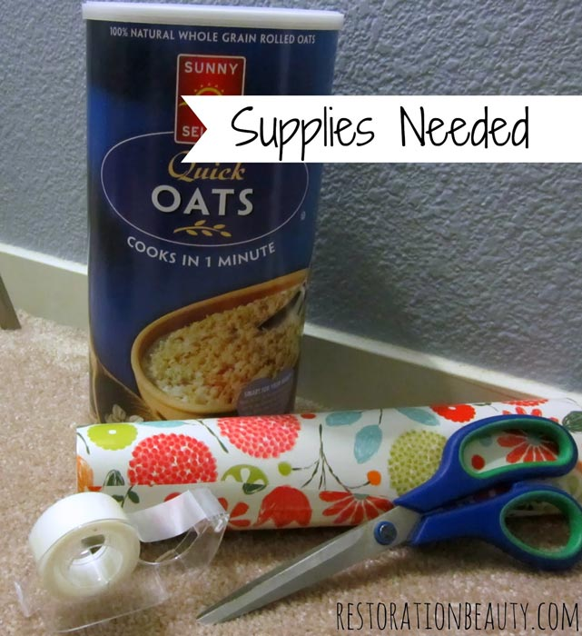 headband-holder-from-oatmeal-container