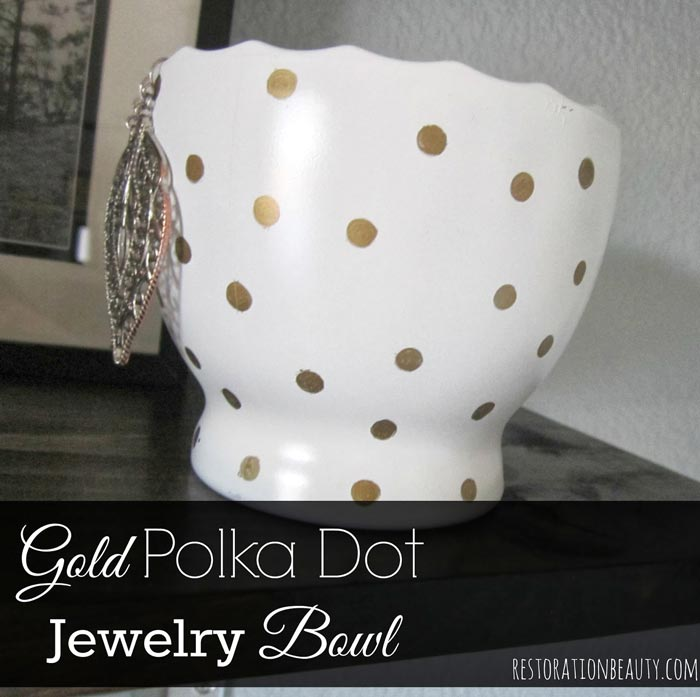 homemade-gold-polka-dot-diy-jewelry-bowl
