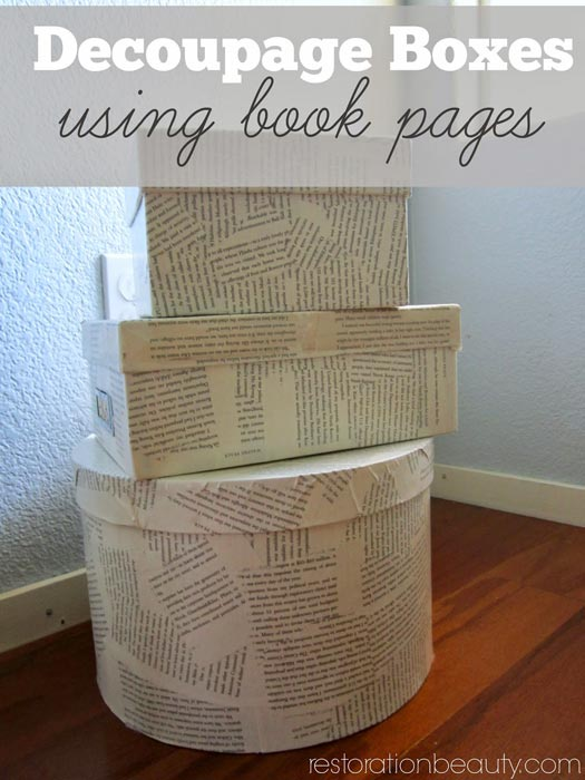 how-to-decoupage-boxes-using-book-pages