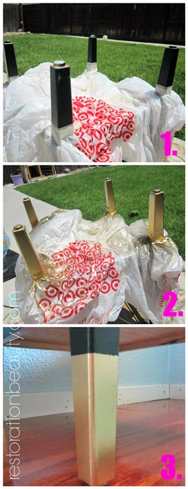 spray-painted-dipped-gold-legs-table-makeover